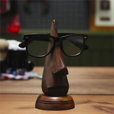 Mango Wood Nose Eye Glass Spectacles Glasses Holder Stand