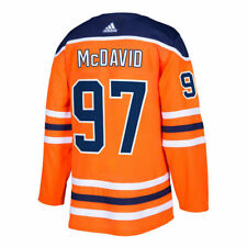 Edmonton Oilers Connor McDavid adidas Orange Home Authentic Jersey 54 X-Large