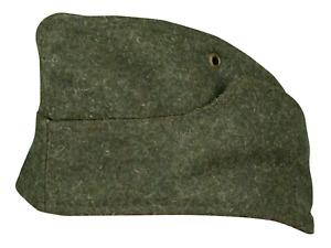 WWII GERMAN  WOOL M38 OVERSEAS SIDE CAP 61 cm