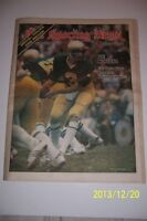 1978 Sporting News NOTRE Dame JOE MONTANA No Label NCAA FOOTBALL PREVIEW Repeat?
