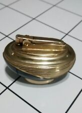 Ronson Lotus Lighter Golden/Black made in USA.