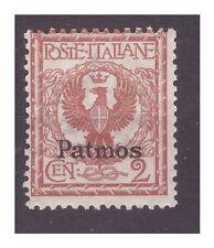 ISOLE EGEO  PATMO  1912 -  Centesimi   2    NUOVO **