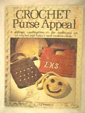 Crochet Purse Appeal  - Designer Artistic Crafts Inc. - 12 Patterns