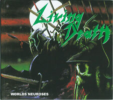 LIVING DEATH-Worlds neuroses + + DIGIBOOK-CD + + NUOVO!!!