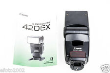 Canon Speedlite 420EX Shoe Mount Flash #0702