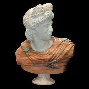 Marble Bust of Apollo #4242