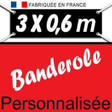 Creation&Impression BANDEROLE KAKEMONO Banderolle bâche publicitaire 3x0,6