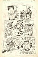 Forever People #5 p.17 Kirby's 4th World Team Shot 1988 art by Paris Cullins