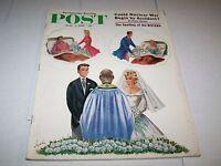 JUNE 3 1961 SATURDAY EVENING POST magazine WEDDING