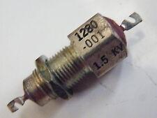 Condensador de alimentación a través de 1000pF 0.001uF 1500v 1K5v tornillo en el tipo de proyectos de RF EG22