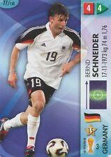 N°077 BERND SCHNEIDER DEUTSCHLAND TRADING CARDS PANINI WORLD CUP 2006
