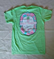 "NWT Simply Southern ""the Closest Thing to Paradise"" Women's Sz. Medium T-Shirt"