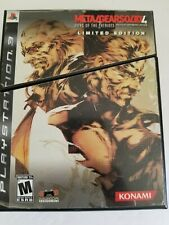 Metal Gear Solid 4: Guns of the Patriots Limited Edition Sony PlayStation 3 PS3