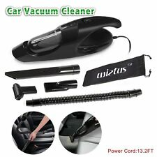New Wietus™ Car Vacuum 80W Suction 3KPA Black 12V 5-in-1 Multifunction