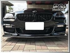 BMW 2012-2016 F12 F13 F06 3D Style Carbon Fiber Front Lip Fit M Sports Bumper