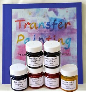 Fabric Transfer Paint and Instruction Book - Mary Gamester