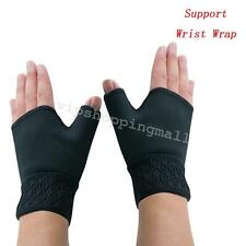 Comfortable Support Wrist Wrap Gloves Arthritis Carpal Tunnel Weak Hand Wrists