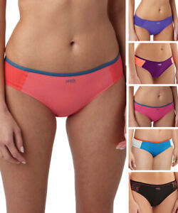 Panache Sports Brief 7342 Mid Rise Brief Knickers Breathable Mesh Panels