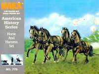 Union Horses & Harness Civil War Set 1/32 Imex 761963007757
