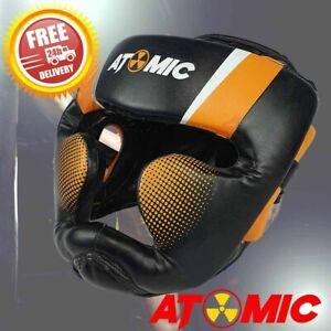 Atomic Full Face Head Gear Boxing Headgear 3 Sizes