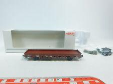 AW868-0,5# Märklin MHI H0/AC 46949 Flachwagen/Güterwagen DB NEM KK, NEUW+OVP