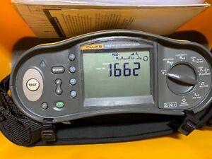 FLUKE 1662 Multifunktion Installation Tester Prüfgerät VDE ( 1654B 1653B 1664FC)