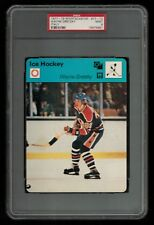 PSA 9 WAYNE GRETZKY 1979 Sportscaster Hockey #77-10 High Number Card ROOKIE