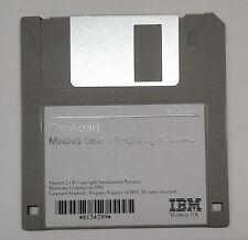 1 floppy disk IBM ThinkPad MWave DSP Telephony diskette 2.1 8134399 1995 UK made