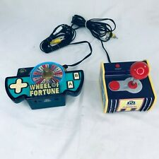 Jakks Pacific Namco Plug And Play Games Joystick PAC Man 5 In 1 Wheel of Fortune