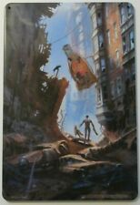 Bethesda Fallout 4 Apocalyptic Alley 6x9 Metal Art Print Loot Crate Nuka Cola