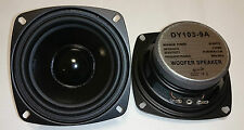 """1 Stück Dynavox 4"""" 10cm 100mm Bass Lautsprecher Tieftöner DY-103 4Ohm TOP"""