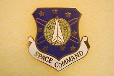 US USA USAF Air Force Space Command Military Hat Lapel Pin