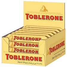 1 x TOBLERONE Box (24 small chocolates) 840g / 1.85lbs / 29.63oz