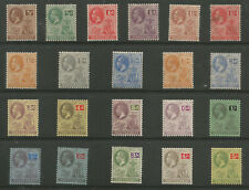 MONTSERRAT SG63-83 THE 1922-9  GV SET OF 21 MOUNTED MINT C.£95