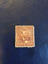 us mint stamps 19th century unused Scott 255