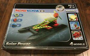 Fischertechnik Profi Solar Power 160tlg Solar Boats Energy Toy Construction Kit!