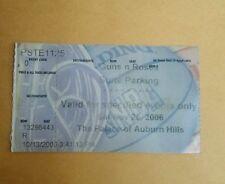 Guns n Roses The Palace of Auburn Hills Ticket Stub