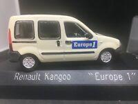 Solido Renault Kangoo EUROPE 1 1998 1/43 en boite modele original