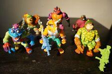 Vintage Teenage Mutant Ninja Turtles TMNT Action Figure Toy Lot Playmates Mirage