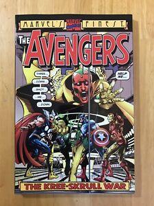 **NM-**Avengers: Kree-Skrull War by Roy Thomas & Neal Adams TPB 2000 Marvel