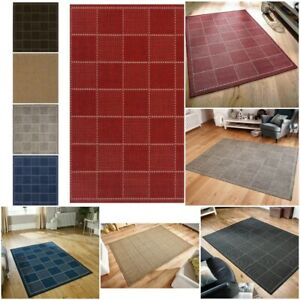 SMALL-EXTRA LARGE FLATWEAVE INDOOR / OUTDOOR PATIO CONSERVATORY MODERN RUGS MATS