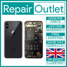 Genuine iPhone X Black Rear Back Chasis Housing with Parts Grade A 100% Genuine