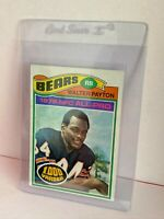 1977 TOPPS NFL ALL-PRO WALTER PAYTON CHICAGO BEARS FOOTBALL CARD 1000 YARDS #360