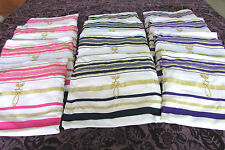 Jewish Messianic Prayer Shawls 1 Dozen Tallit Bags & 12 Shawls -Blue,Black,Pink