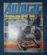 Autocar Cars, 1970s Magazines in English