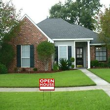 OPEN HOUSE Large Yard Sign, 18 Inches by 24 Inches (OPEN HOUSE)
