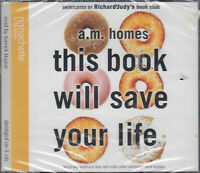 This Book Will Save Your Life A. M. Homes 5CD Audio Book NEW* Abridged FASTPOST