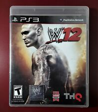 WWE 12 PLAYSTATION 3 PS3 VIDEO GAME TESTED