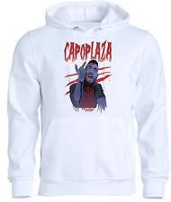Felpa cappuccio CAPOPLAZA v4 trap rap music maglia t-shirt capo plaza zombie