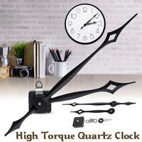 High Torque Quartz Controlled Clock Movement Motor Mechanism Hour Minute Hand US